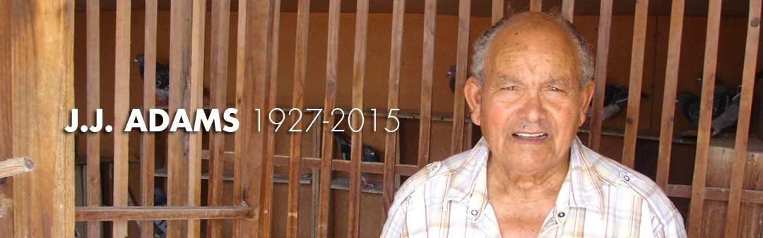 J.J. ADAMS 1927-2015